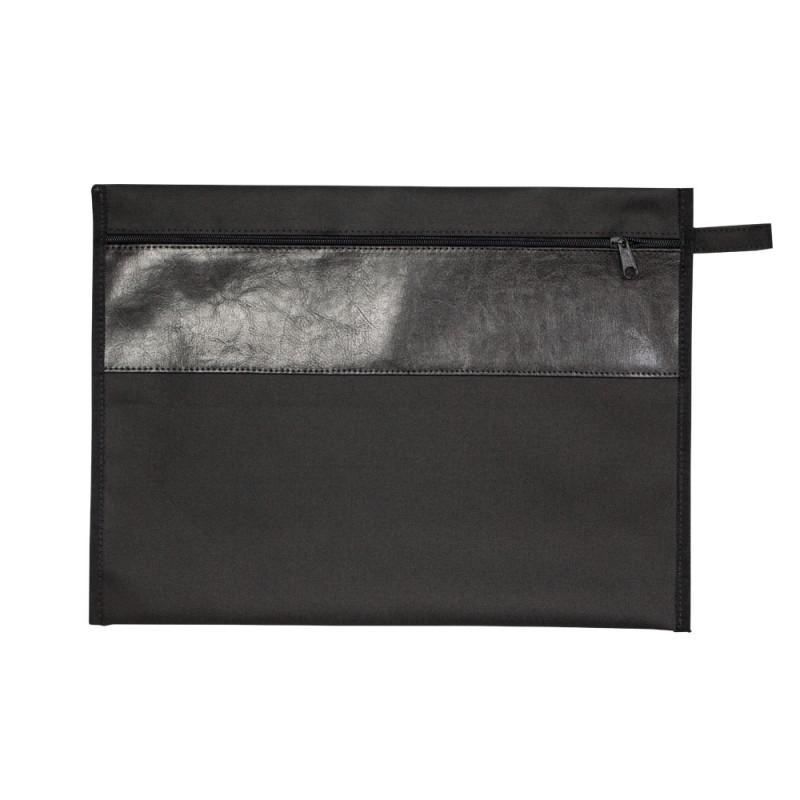 edaf15f9e Bolsa Tipo Malote em Lona Nylon 600 c/ Detalhe em Couro Sintetico