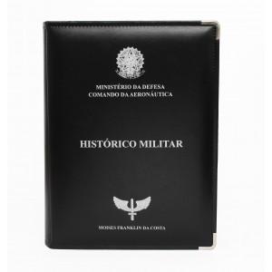 Pasta Histórico Militar com Personalização Individual - Aeronáutica