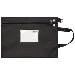 Bolsa tipo Malote em Nylon c/ Visor de Identificação 39x30cm