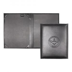 O Porta Diploma com Bolso Cristal Stander Incorpast