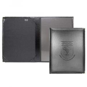 Porta Diploma com Bolso Cristal em Couro Sintético 32x25cm