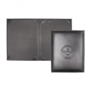 Porta Diploma com Ponteiras Internas Stander 32x25 cm