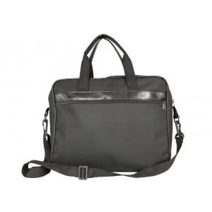 Bolsa em Nylon 600 com Alças de Mão e Tira Colo 38x30x9,5cm