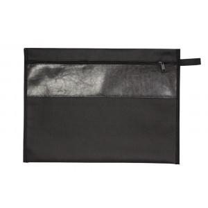 Bolsa tipo Malote c/ detalhe em Couro Sintético 39x30cm