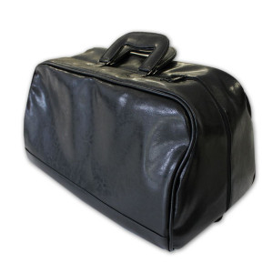 Bolsa de Viagem Média em Couro Sintético 27x48x27cm